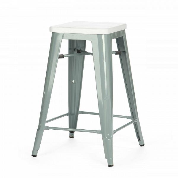 Барный стул Marais Color 1Полубарные<br>Хорошая мебель — это мебель стильная, удобная и надежная, простая в уходе. Так размышлял Ксавье Пошар, французский дизайнер ХХ века, и разработал целую серию предметов мебели, отвечающую этим запросам. Представляем вам барный стул Marais Color 1 с сиденьем из натурального дерева.<br><br><br> Тонкая гальванизированная сталь с порошковым напылением отлично воспринимает лакокрасочное покрытие, позволяя разнообразить палитру цветов, к тому же она очень долговечна. Продуманный дизайн предмета обесп...<br><br>stock: 16<br>Высота: 65<br>Ширина: 44<br>Ширина сиденья: 30<br>Глубина: 44<br>Глубина сиденья: 30<br>Тип материала каркаса: Сталь<br>Материал сидения: Массив дуба<br>Цвет сидения: Белый<br>Тип материала сидения: Дерево<br>Цвет каркаса: Серый<br>Дизайнер: Xavier Pauchard