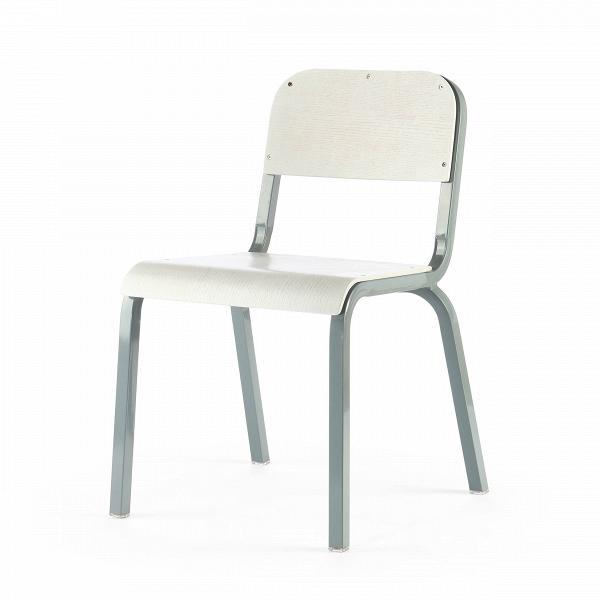Стул TorsoИнтерьерные<br>Дизайнерский однотонный стул Torso (Торсо) на стальном каркасе с деревянными сиденьем и спинкой от Cosmo (Космо).<br>Стул Torso — классический компонент офисного интерьера. Это штабелируемый стул, лаконичный по форме конструкции и цветовому исполнению. Отличный пример изделия, который впишется в любое рабочее пространство, будьВто офис креативной фотостудии или отдел бухгалтерии.В<br> <br> Поскольку данная оригинальная модель штабелируется, актуально приобретать сразуВнесколько штук....<br><br>stock: 22<br>Высота: 80<br>Высота сиденья: 45<br>Ширина: 54,5<br>Глубина: 56<br>Тип материала каркаса: Сталь<br>Материал сидения: Фанера, шпон дуба<br>Цвет сидения: Белый<br>Тип материала сидения: Дерево<br>Цвет каркаса: Серый