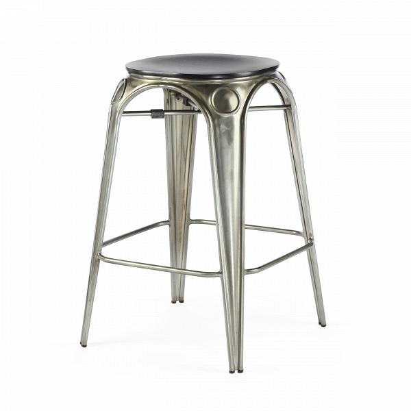Табурет Louix высота 65Полубарные<br>Все модели мебельной коллекции Louix выполнены в индустриальном стиле, который становится все большей константой среди современных европейских интерьеров. Постоянные атрибуты стиля — темная натуральная древесина и металлический каркас, который чаще всего состарен или покрыт краской темного цвета.ВИндустриальный стиль, самый честный, откровенный, обнаженный. Показать все, что скрыто, — основная задача этого направления. Вся «подноготная» оказывается на виду: проводка, трубы, металлические...<br><br>stock: 0<br>Высота: 65<br>Диаметр: 45.5<br>Цвет ножек: Бронза пушечная<br>Материал сидения: Массив дуба<br>Цвет сидения: Черный<br>Тип материала сидения: Дерево<br>Тип материала ножек: Сталь<br>Дизайнер: Alexandre Arazola