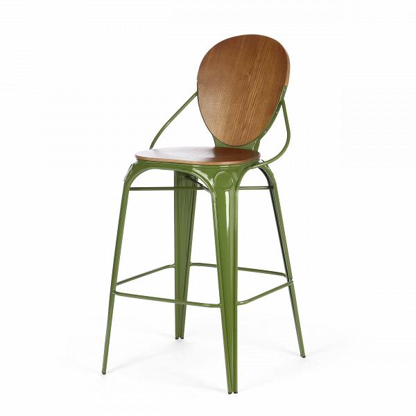 Барный стул LouixБарные<br>Дизайнерский деревянный барный стул Louix (Луикс) со стальным каркасом от Cosmo (Космо).<br>Все модели мебельной коллекции Louix выполнены в индустриальном стиле, которыйВвсе большеВстановится константой среди современных европейских интерьеров. Индустриальный стиль, самый честный, откровенный, обнаженный. Показать все, что скрыто, — основная задача этого направления. Вся «подноготная» оказывается на виду: проводка, трубы, металлические конструкции... Старые вещи не выбрасываются — он...<br><br>stock: 8<br>Высота: 110<br>Высота сиденья: 74<br>Ширина: 65<br>Глубина: 54<br>Тип материала каркаса: Сталь<br>Материал сидения: Фанера, шпон ивы<br>Цвет сидения: Коричневый<br>Тип материала сидения: Дерево<br>Цвет каркаса: Темно-зеленый<br>Дизайнер: Alexandre Arazola