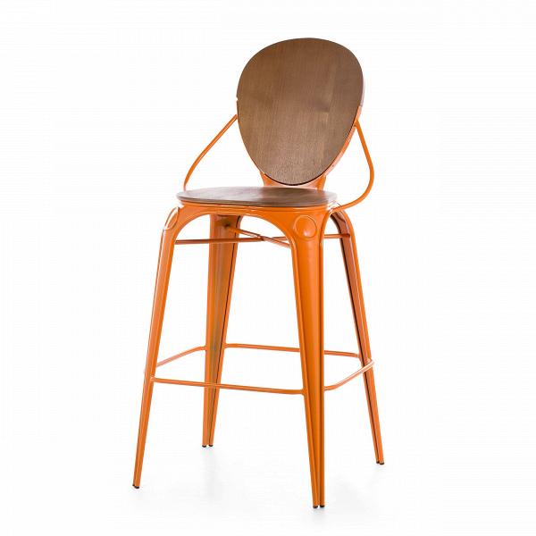 Барный стул LouixБарные<br>Дизайнерский деревянный барный стул Louix (Луикс) со стальным каркасом от Cosmo (Космо).<br>Все модели мебельной коллекции Louix выполнены в индустриальном стиле, которыйВвсе большеВстановится константой среди современных европейских интерьеров. Индустриальный стиль, самый честный, откровенный, обнаженный. Показать все, что скрыто, — основная задача этого направления. Вся «подноготная» оказывается на виду: проводка, трубы, металлические конструкции... Старые вещи не выбрасываются — он...<br><br>stock: 9<br>Высота: 110<br>Высота сиденья: 74<br>Ширина: 65<br>Глубина: 54<br>Тип материала каркаса: Сталь<br>Материал сидения: Фанера, шпон ивы<br>Цвет сидения: Коричневый<br>Тип материала сидения: Дерево<br>Цвет каркаса: Оранжевый<br>Дизайнер: Alexandre Arazola