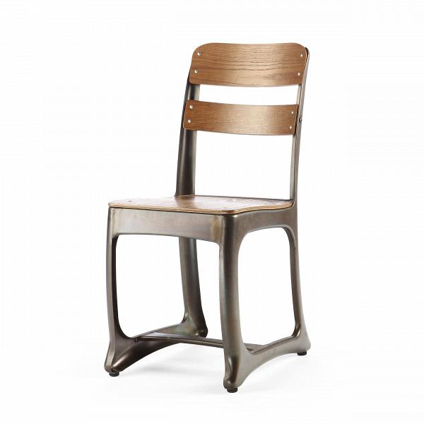 Стул OctoИнтерьерные<br>Дизайнерский стул Octo (Окто) на стальном каркасе цвета кофейной ржавчины с деревянным сиденьем и спинкой от Cosmo (Космо).<br>Если взглянуть на стул Octo, довольно сложно будет понять, в чем же именно заключается необычность его дизайна. Все материалы, из которых он изготовлен, формы отдельных деталей вполне привычны. Однако не признать, что в его силуэте есть особая изюминка, просто невозможно. Неординарность его дизайна составляют ножки, форма которых имеет отголоски не только индустриальног...<br><br>stock: 36<br>Высота: 83<br>Ширина: 51.5<br>Глубина: 39<br>Тип материала каркаса: Сталь<br>Материал сидения: Фанера, шпон ивы<br>Цвет сидения: Коричневый<br>Тип материала сидения: Дерево<br>Цвет каркаса: Ржавчина кофейная