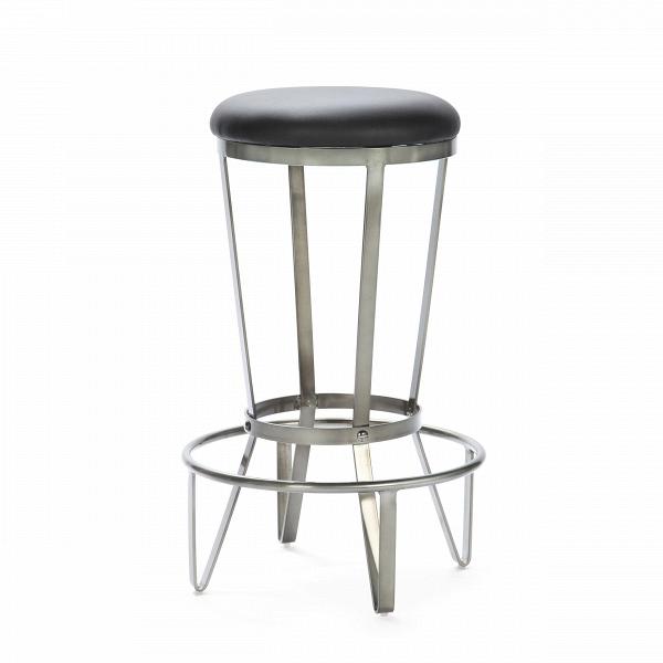 Барный стул JediБарные<br>Дизайнерский барный стул Jedi (Джежай) из искусственной кожи на металлическом каркасе от Cosmo (Космо).<br>Прочный, стальной, предельно простой и функциональный. Что еще нужно для барного стула в квартиру или в бар, гдеВвВинтерьере господствуют необработанный кирпич, металлические перекрытия, заводские фонари — в общем, все атрибуты индустриального стиля.В<br> <br> При этом оригинальный табурет неВвыглядит слишком брутально, визуальная жесткость стального каркаса сглаживается гл...<br><br>stock: 26<br>Высота: 72.5<br>Диаметр: 44.5<br>Тип материала каркаса: Сталь<br>Материал сидения: Полиуретан<br>Цвет сидения: Черный<br>Тип материала сидения: Кожа искусственная<br>Цвет каркаса: Бронза пушечная