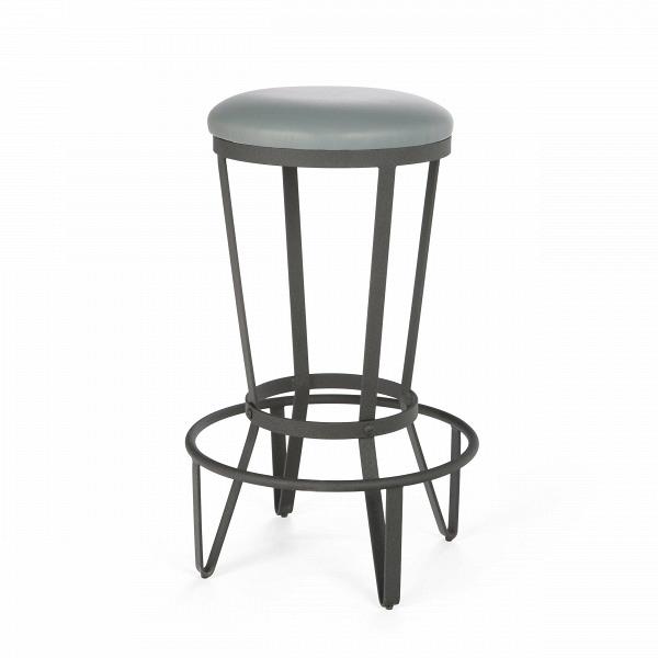 Барный стул JediБарные<br>Дизайнерский барный стул Jedi (Джежай) из искусственной кожи на металлическом каркасе от Cosmo (Космо).<br>Прочный, стальной, предельно простой и функциональный. Что еще нужно для барного стула в квартиру или в бар, гдеВвВинтерьере господствуют необработанный кирпич, металлические перекрытия, заводские фонари — в общем, все атрибуты индустриального стиля.В<br> <br> При этом оригинальный табурет неВвыглядит слишком брутально, визуальная жесткость стального каркаса сглаживается гл...<br><br>stock: 30<br>Высота: 72.5<br>Диаметр: 44.5<br>Тип материала каркаса: Сталь<br>Материал сидения: Полиуретан<br>Цвет сидения: Серый<br>Тип материала сидения: Кожа искусственная<br>Цвет каркаса: Чёрный гофрированый