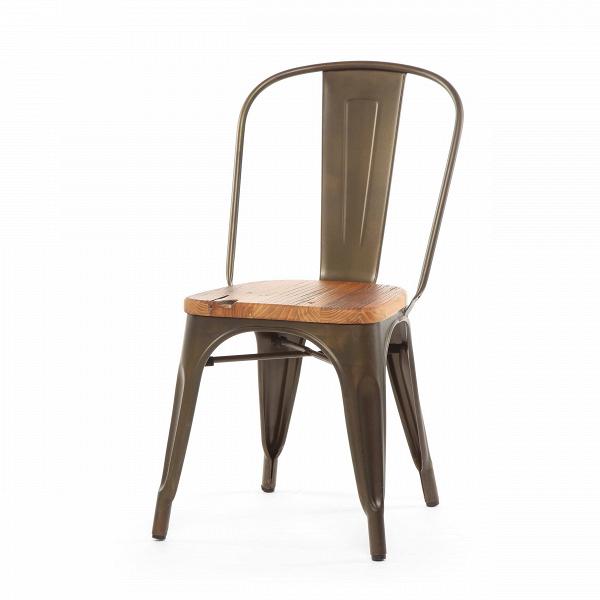 Стул Marais WoodИнтерьерные<br>Дизайнерский креативный жесткий стул Marais Wood (Мэрейс Вуд) на стальном каркасе с сиденьем из дерева от Cosmo (Космо).<br><br>     В современном мире не существует единого правила для создания интерьера, это вопрос личных предпочтений. Кто-то любит наличие картин в золоченых резных рамах, кто-то увлекается яркими восточными коврами и рогожками, а кому-то ближе холодный приглушенный блеск металла и промышленный дизайн в оформлении жилища.<br><br><br> Стул Marais WoodВ — это именно индустриальный ...<br><br>stock: 0<br>Высота: 85<br>Высота сиденья: 45<br>Ширина: 46<br>Глубина: 51<br>Тип материала каркаса: Сталь<br>Материал сидения: Массив дуба<br>Цвет сидения: Дуб<br>Тип материала сидения: Дерево<br>Цвет каркаса: Ржавчина кофейная<br>Дизайнер: Xavier Pauchard