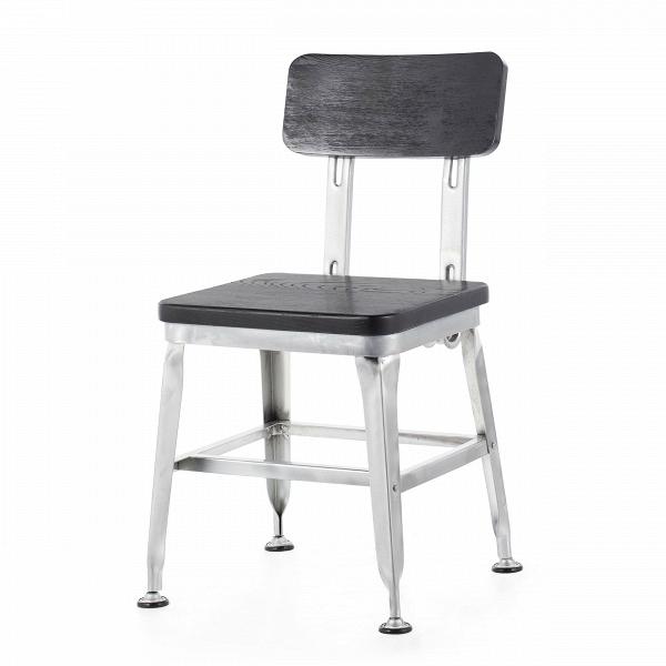 Стул HansИнтерьерные<br>Дизайнерский металлический стул Hans (Хэнс) с вставками из массива ивы от Cosmo (Космо).<br><br>     Ясу Сасамото, японский индустриальный дизайнер предметов обихода и основатель мебельной компании Dulton, наделяет свои работы необычной эстетикой и поразительной долговечностью. Его мебель может передаваться по наследству, уверенно проходя сквозь десятилетия. Он сделал возможным использовать аксессуары с промышленным характером даже в ретростиле жилых и общественных помещений.<br><br><br> Оригинальный с...<br><br>stock: 9<br>Высота: 79,5<br>Высота сиденья: 45<br>Ширина: 45<br>Глубина: 49,5<br>Тип материала каркаса: Сталь<br>Материал сидения: Массив ивы<br>Цвет сидения: Черный<br>Тип материала сидения: Дерево<br>Цвет каркаса: Черный
