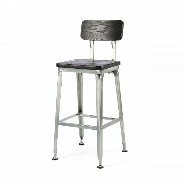 Барный стул HansБарные<br>Дизайнерский барный стул Hans (Ганс) из массива ивы на узких металлических ножках от Cosmo (Космо).<br><br> Ясу Сасамото, японский индустриальный дизайнер предметов обихода и основатель мебельной компании Hans, наделяет свои работы необычной эстетикой и поразительной долговечностью. Его мебель может передаваться по наследству, уверенно проходя сквозь десятилетия. Он сделал возможным использовать аксессуары с промышленным характером даже в ретростиле жилых и общественных помещений.<br><br><br> Оригинал...<br><br>stock: 4<br>Высота: 107,5<br>Высота сиденья: 75<br>Ширина: 51,5<br>Глубина: 42,5<br>Тип материала каркаса: Сталь<br>Материал сидения: Массив ивы<br>Цвет сидения: Черный<br>Тип материала сидения: Дерево<br>Цвет каркаса: Черный