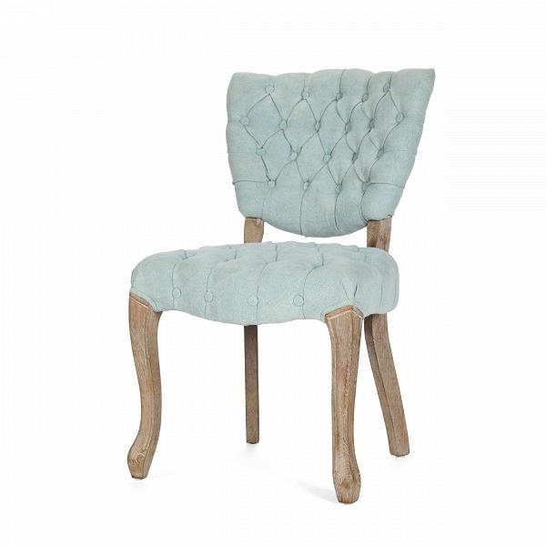Стул MaxineИнтерьерные<br>Дизайнерский мягкий голубой интерьерный стул Maxine (Максин) с льняной обивкой на изогнутых ножках от Cosmo (Космо).<br>Мягкая воздушная обивка — это визитная карточка интерьерного стула Maxine. Высококачественная льняная ткань обволакивает износостойкий наполнитель из пены. Благодаря каретной стяжке модель стула не только мягче, но и изящнее на вид. Несмотря на отсутствие подлокотников, стул ничуть не уступает похожим моделям кресел, а напротив, удобнее в качестве обеденной мебели.В<br> <br> ...<br><br>stock: 15<br>Высота: 85<br>Высота сиденья: 51<br>Ширина: 52<br>Глубина: 58<br>Наполнитель: Пена<br>Материал каркаса: Состаренный массив дуба<br>Тип материала каркаса: Дерево<br>Материал сидения: Лен<br>Цвет сидения: Голубой<br>Тип материала сидения: Ткань<br>Цвет каркаса: Дуб