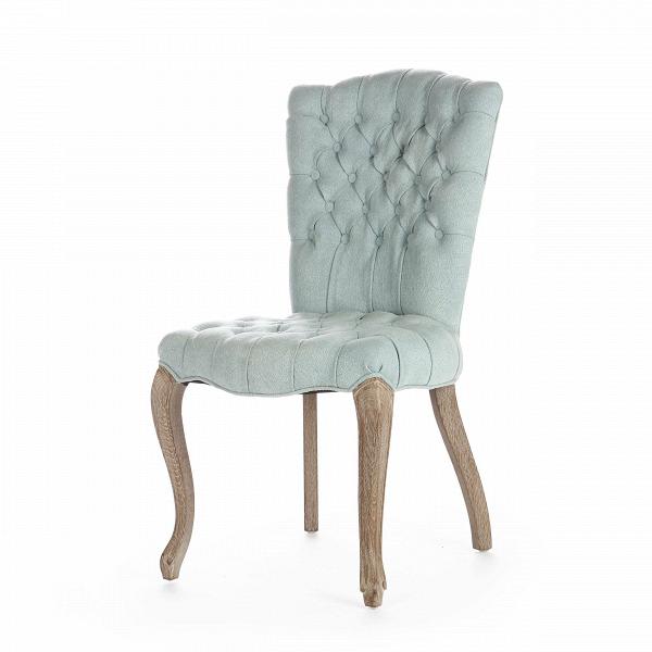 Стул LeahИнтерьерные<br>Дизайнерский мягкий интерьерный голубой стул Leah (Леах) из состаренного массива дуба на изогнутых ножках от Cosmo (Космо).<br>Каретная стяжка — одна из самых популярных техник обивки мебели. Она несет в себе не столько декоративную функцию, сколько делает мебель удобной и чрезвычайно мягкой. Обивка стула Leah выполнена как раз в этой технике, отчего он невероятно воздушный и уютный. Стул Leah мог бы статьВполноценнымВкреслом, будь у него подлокотники. Однако он ни в чем не уступает к...<br><br>stock: 8<br>Высота: 95<br>Высота сиденья: 51<br>Ширина: 61<br>Глубина: 52<br>Цвет ножек: Дуб<br>Наполнитель: Пена<br>Материал ножек: Состаренный массив дуба<br>Материал сидения: Лен<br>Цвет сидения: Голубой<br>Тип материала сидения: Ткань<br>Тип материала ножек: Дерево