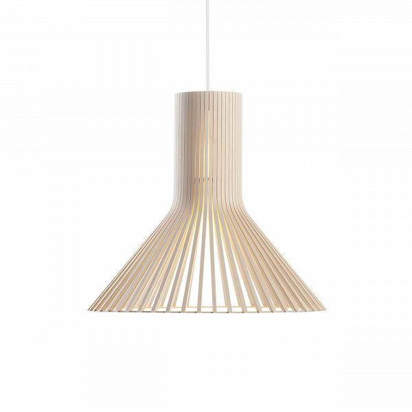 Подвесной светильник Puncto 4203Подвесные<br>Компания Secto Design является финским производителем дизайнерских светильников изВдерева, обретающих всемирную известность. Изготавливаемые вручную высококвалифицированными специалистами изВнатуральной древесины березы, они наделены простотой иВчеткостью скандинавского стиля. Торшеры, подвесные иВнастенные светильники, аВтакже настольные лампы обеспечивают мягкое свечение иВпридают атмосферность любому помещению.<br><br> Подвесной светильник Puncto 4203 изготовлен п...<br><br>stock: 0<br>Высота: 40<br>Диаметр: 45<br>Количество ламп: 1<br>Материал абажура: Береза<br>Мощность лампы: 40<br>Ламп в комплекте: Нет<br>Напряжение: 220<br>Теплота света: 3000<br>Тип лампы/цоколь: E27<br>Цвет абажура: Натуральный<br>Дизайнер: Seppo Koho