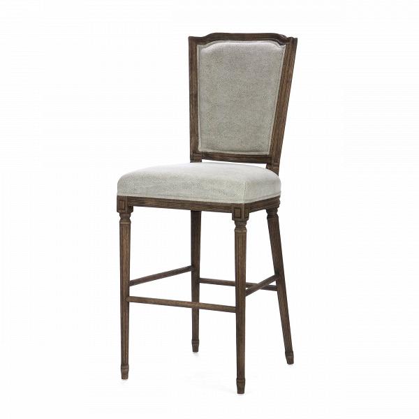 Барный стул VittoriaБарные<br>Дизайнерский серый барный стул Vittoria (Виттория) из льна с деревянным каркасом от Cosmo (Космо). <br>В обстановке английских и ирландских пабов всегда есть что-то чарующее — приглушенный свет, антикварные барные столешницы, деревянная отделка мебели... В них всегда царит особая атмосфера спокойствия и уюта, что так необходима в бесконечной гонке будних дней. Создайте эту неспешную и комфортную обстановку с помощью барного стула Vittoria!<br> <br> Благодаря серой обивке оригинальный барный стул Vi...<br><br>stock: 16<br>Высота: 126<br>Высота сиденья: 76<br>Ширина: 51<br>Глубина: 54<br>Наполнитель: Пена<br>Материал каркаса: Состаренный массив дуба<br>Тип материала каркаса: Дерево<br>Материал сидения: Лен<br>Цвет сидения: Серый<br>Тип материала сидения: Ткань<br>Цвет каркаса: Темно-коричневый