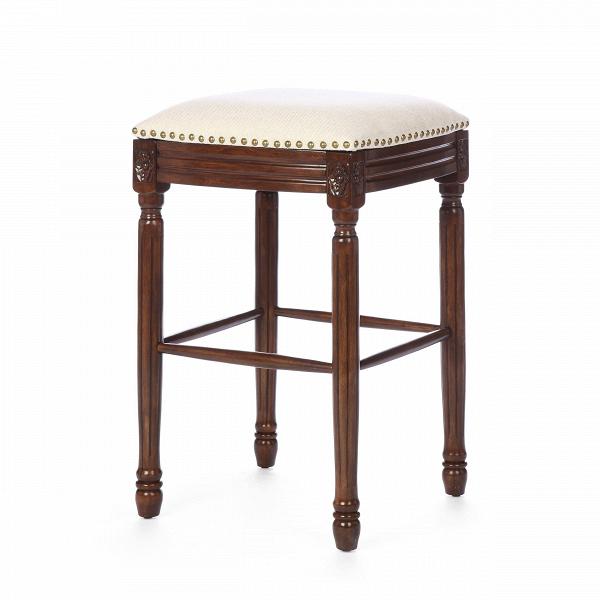 Барный стул TaliaБарные<br>Дизайнерский бежево-серый тканевый барный стул Talia (Талия) на темно-коричневых ножках от Cosmo (Космо). <br>Барный стул Talia — выбор тех, кто отдает предпочтение благородной классике.<br> <br> Как и многие предметы мебели от компании Cosmo, оригинальный барный стул Talia изготовлен из натуральных материалов. Обивка выполнена из натуральной льняной ткани. Как известно, лен — высококачественныйВматериал, полученныйВиз растительных волокон, лен обладает значительной устойчивостью к износу...<br><br>stock: 0<br>Высота: 73.5<br>Ширина: 40.5<br>Глубина: 40.5<br>Наполнитель: Пена<br>Материал каркаса: Массив гевеи<br>Тип материала каркаса: Дерево<br>Материал сидения: Лен<br>Цвет сидения: Бежево-серый<br>Тип материала сидения: Ткань<br>Цвет каркаса: Темно-коричневый