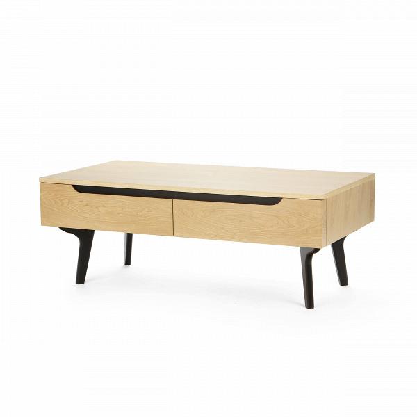 Кофейный стол SandyКофейные столики<br>Sandy — коллекция интерьерной мебели, объединенная стилистикой, цветом, формами и материалом. Сдержанность и лаконичность — конек данной линейки. Однако в то же время мебель из этой коллекции стильная и современная. Ею легко дополнить любой современный интерьер в стиле конструктивизма, который в свою очередь популярен благодаря продуманности до мельчайших деталей. Вот и каждая деталь кофейного стола Sandy служит двум целям — быть удобной, а также долговечной в использовании.В<br> <br> Оригин...<br><br>stock: 9<br>Высота: 45,5<br>Ширина: 60<br>Длина: 120<br>Цвет ножек: Черный<br>Цвет столешницы: Светло-коричневый<br>Материал ножек: Массив каучукового дерева<br>Материал столешницы: МДФ, шпон ясеня<br>Тип материала столешницы: МДФ<br>Тип материала ножек: Дерево