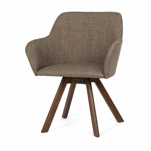 Стул BessИнтерьерные<br>Дизайнерский мягкий стул Bess (Бесс) с подлокотниками на длинных деревянных ножках от Cosmo (Космо).<br>Такой гость в домашнем интерьере — настоящая находка, ведь дизайн данной модели необычен и по-настоящему актуален. Стильное сочетание форм и материалов станут модным дополнением как к классическому, так и к современному интерьеру. Стоит ли перед вами задача подобрать мебель для интерьера в стиле конструктивизм, минимализм, а также многих других направлений, стул Bess непременно окажется полез...<br><br>stock: 2<br>Высота: 81<br>Высота спинки: 49.5<br>Ширина: 62<br>Глубина: 66<br>Цвет ножек: Коричневый<br>Наполнитель: Пена<br>Материал ножек: Массив каучукового дерева<br>Материал сидения: Полиэстер<br>Цвет сидения: Серый<br>Тип материала сидения: Ткань<br>Тип материала ножек: Дерево