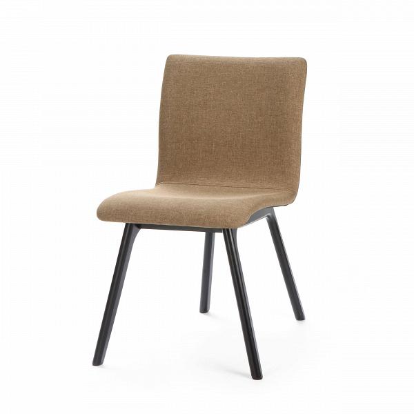 Стул MiltonИнтерьерные<br>Дизайнерский мягкий прямоугольный коричневый стул Milton (Милтон) без подлокотников на черных деревянных ножках от Cosmo (Космо).<br>Компания Cosmo очень гордится своимиВбогатыми коллекциями интерьерной мебели в ее многообразии стилей и используемых материалов. Подавляющая часть предметов мебели подойдет любому, даже очень взыскательному любителю красивого дизайна. Продукты компании всегда изысканны, качественны и современны — и это все, что нужно для комфортной повседневной жизни. Благода...<br><br>stock: 0<br>Высота: 81.5<br>Высота спинки: 47<br>Ширина: 44<br>Глубина: 48.5<br>Цвет ножек: Черный<br>Наполнитель: Пена<br>Материал ножек: Массив каучукового дерева<br>Материал сидения: Полиэстер<br>Цвет сидения: Коричневый<br>Тип материала сидения: Ткань<br>Тип материала ножек: Дерево