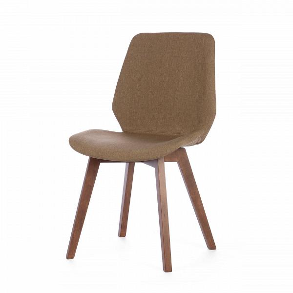 Стул HesterИнтерьерные<br>Дизайнерский мягкий коричневый стул Hester (Хестер) без подлокотников на длинных деревянных ножках от Cosmo (Космо).<br>Приятная сдержанная фактура, кофейные оттенки, плавные линии — так можно описать новую классику современности, стул Hester. Благодаря крестообразной схеме крепления ножек стул очень устойчивый. Под мягкой обивочной тканьюВне менее мягкая обивка из пены, поэтому изделие не только красивое, но и очень комфортное. Его можно использовать в качестве интерьерной мебели в интерь...<br><br>stock: 21<br>Высота: 87.5<br>Высота спинки: 50<br>Ширина: 64<br>Глубина: 49<br>Цвет ножек: Коричневый<br>Наполнитель: Пена<br>Материал ножек: Массив каучукового дерева<br>Материал сидения: Полиэстер<br>Цвет сидения: Коричневый<br>Тип материала сидения: Ткань<br>Тип материала ножек: Дерево