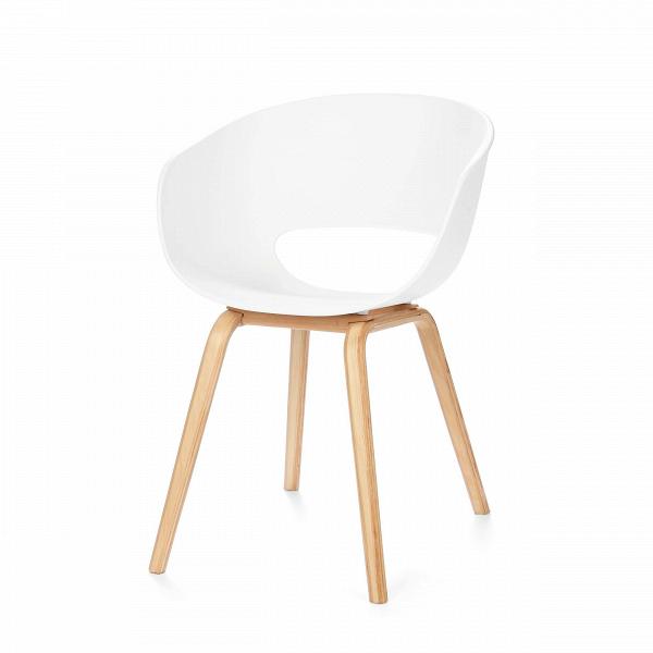 Стул EraИнтерьерные<br>Дизайнерский белый стул-чаша Era (Эра) из полипропилена на деревянных ножках от Cosmo (Космо).<br>Если взять дизайн обычного интерьерного стула и добавить к нему немного дизайнерского видения, то вы получите стильный и лаконичный стул Era. Простой, но вместе с тем модный стул выполнен в популярномВскандинавском стиле.ВЭто направление предполагает, что качество намного важнее количества, поэтому сдержанность в нем удивительным образом переплетается с минимализмом и изяществом. В сканди...<br><br>stock: 56<br>Высота: 75.5<br>Высота сиденья: 43<br>Ширина: 56<br>Глубина: 57<br>Цвет ножек: Светло-коричневый<br>Материал ножек: Массив ясеня<br>Тип материала каркаса: Полипропилен<br>Тип материала ножек: Дерево<br>Цвет каркаса: Белый