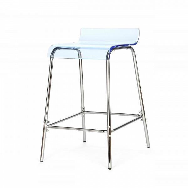 Барный стул AcrylicБарные<br>Дизайнерский прозрачный акриловый барный стул Acrylic (Акрилик) без спинки от Cosmo (Космо). <br>Барный стул Acrylic — одна из моделей мебели одноименной коллекции. Вся линейка состоит из мебели, объединенной одним стилем и материалами исполнения. Acryl, или «акрил» — это материал, который хорош в изготовлении мебели. Он обладает высокой прочностью и устойчивостью к истиранию. Он также водонепроницаем и отлично выдерживает перепады температур.В<br> <br> Данная модель оригинального стула выполн...<br><br>stock: 18<br>Высота: 80<br>Высота сиденья: 68<br>Ширина: 45.5<br>Глубина: 55.5<br>Цвет ножек: Хром<br>Цвет сидения: Голубой<br>Тип материала сидения: Акрил<br>Тип материала ножек: Сталь