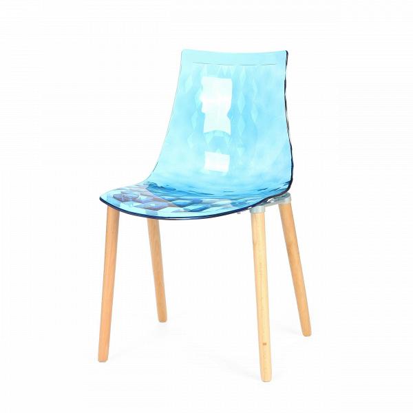 Стул Gauzy с деревянными ножкамиИнтерьерные<br>Дизайнерский светлый прозрачный стул Gauzy (Гаузи) из поликарбоната с деревянными ножками от Cosmo (Космо).<br><br>     Приятный лаконичный дизайнВстула Gauzy с деревянными ножкамиВобязательно порадует даже самых строгих ценителей современного дизайна. Мягкие изгибы стула не только хороши на вид, но на таком стуле комфортно сидеть. Это легкая вариация оригинального стула, который собран с ножками из металла.В<br><br><br>     Необычное ребристое тиснение на поверхности сиденья — одна из о...<br><br>stock: 6<br>Высота: 80<br>Высота сиденья: 45<br>Ширина: 51<br>Глубина: 54.5<br>Цвет ножек: Светло-коричневый<br>Материал каркаса: Поликарбонат<br>Материал ножек: Массив ясеня<br>Тип материала каркаса: Пластик<br>Тип материала ножек: Дерево<br>Цвет каркаса: Голубой прозрачный