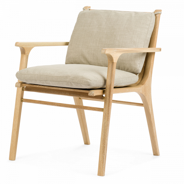 Кресло RenИнтерьерные<br>Дизайнерское легкое кресло Ren (Рэн) из дерева с тканевой обивкой от Stellar works (Стеллар Воркс).<br><br><br> Сдержанный дизайн коллекции RГ©nВпостроен наВтворческом вдохновении иВамбициях. Коллекция отражает сложившуюся традицию современного датского дизайна соВсвойственным ему скандинавским стремлением кВидеалам красоты, высокому качеству иВдоступности. Эта философия обильно приправлена знаниями, опытом, вдохновением иВдекоративными элементами, характер...<br><br>stock: 1<br>Высота: 77<br>Ширина: 62,4<br>Глубина: 60<br>Материал каркаса: Массив ясеня<br>Тип материала каркаса: Дерево<br>Тип материала обивки: Ткань<br>Цвет обивки: Серый<br>Цвет каркаса: Светло-коричневый