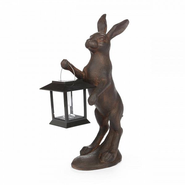 Статуэтка Fairy TaleНастольные<br>Дизайнерская стильная статуэтка Fairy Tale (Фэйри Тэйл) из смолы в цвете ржавчины, в форме зайца от Cosmo (Космо).<br><br><br> Если вы решили внести в свой интерьер какую-нибудь изюминку или украсить его интересными мелочами, то стоит всерьез задуматься о том, какой вид декорирования комнаты подойдет именно вашему интерьеру. Для любого жилища можно подобрать как изящные и красивые безделушки, так и вполне практичные предметы, которые не только украсят ваш дом, но и станут полезными в быту. Если ...<br><br>stock: 0<br>Высота: 43<br>Ширина: 12.5<br>Материал: Смола<br>Цвет: Ржавчина<br>Длина: 24<br>Цвет дополнительный: Черный