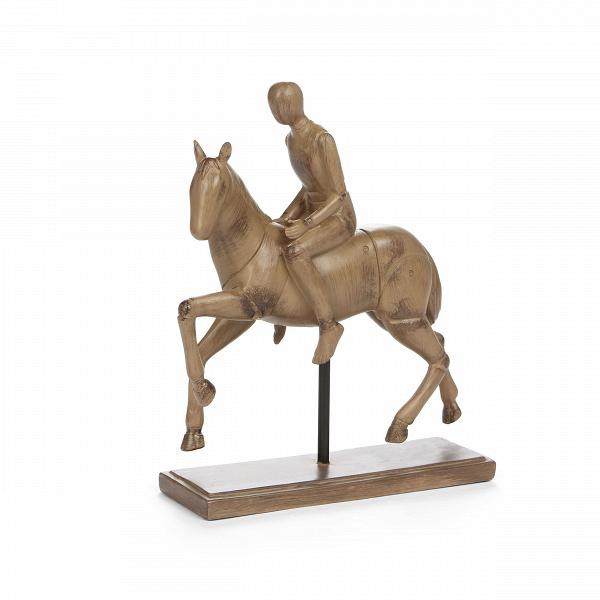 Статуэтка KnightНастольные<br>Дизайнерская коричневая статуэтка Knight (Кнайт) из смолы в форме рыцаря на коне от Cosmo (Космо).<br><br><br> Современный дизайн радует нас всевозможными способами украсить свой интерьер, сделать его полностью на свой вкус и по своему настроению. Статуэтки в дизайне несут в себе не только роль привлекательного украшения, но и задают атмосферу всему помещению.<br><br><br> Статуэтка Knight<br>(в переводе с английского «рыцарь») представляет собой простую и в то же время оригинальную статуэтку, изображаю...<br><br>stock: 2<br>Высота: 29<br>Ширина: 7.8<br>Материал: Смола<br>Цвет: Коричневый<br>Длина: 25