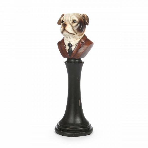 Статуэтка WoofНастольные<br>Дизайнерская авторская черно-коричневая статуэтка Woof (Вуф) в форме бюста собаки от Cosmo (Космо).<br><br><br> Разные люди предпочитают разные стили в интерьере, и один из самых любимых этапов в создании интерьера — украшение его различными элементами декора. Помимо прочих типов декора существует еще анималистический стиль, то есть украшение комнат различными предметами, связанными с животным миром и природой. Такие предметы привносят в дом особую теплоту и толику любви.<br><br><br> Оригинальная стат...<br><br>stock: 5<br>Высота: 33.5<br>Ширина: 11.2<br>Материал: Смола<br>Цвет: Черный<br>Длина: 11.5<br>Цвет дополнительный: Красный