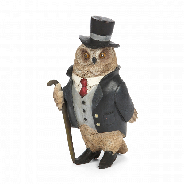 Статуэтка Mr. Owl 1 статуэтки parastone статуэтка девушка весна