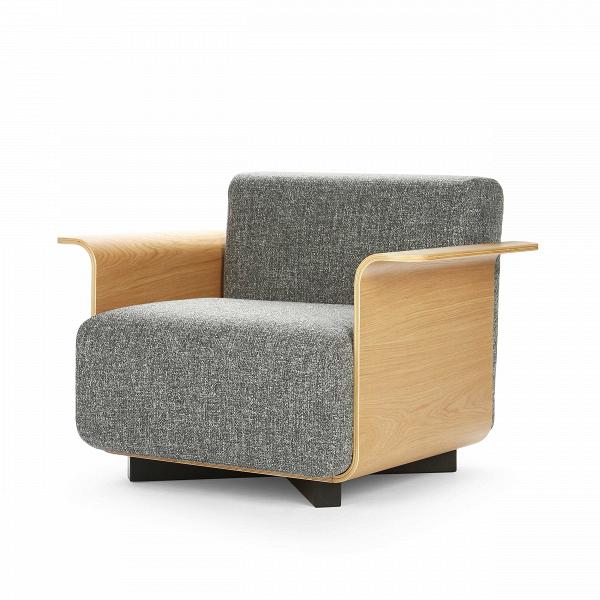 Кресло PebbleИнтерьерные<br>Дизайнерское серое кресло Pebble (Пебл) со стальными ножками и деревянными полокотниками от Cosmo <br><br>Подбирая мебель для небольшойВгостиной, важно экономить каждый сантиметр. Громоздкие мягкие тройки порой сильно загромождают помещение, делают его тесным и безвкусным. Однако ониВне всегда являются необходимостью.ВОриентируясь на размер, выберите для себя кресло Pebble — невероятно удобное и компактное.<br> <br> Дизайн кресла Pebble выполнен в привычном современном стиле. Все дет...<br><br>stock: 0<br>Высота сиденья: 41<br>Ширина: 100<br>Глубина: 53<br>Материал каркаса: Фанера, шпон дуба<br>Материал обивки: Полиэстер, Акрил<br>Тип материала каркаса: Фанера<br>Коллекция ткани: Eero Fabric<br>Тип материала обивки: Ткань<br>Цвет обивки: Темно-серый<br>Цвет каркаса: Дуб