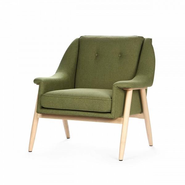 Кресло EdinburgИнтерьерные<br>Дизайнерское широкое комфортное кресло Edinburg (Эденбёрг) на деревянных ножках от Cosmo (Космо).<br><br><br> Кресло для отдыха сВподлокотниками сВпростым иВсовременным дизайном.<br><br><br> Кресло EdinburgВпервоначально было разработано вВ1954 году. Настоящий датский шедевр ручной работы. Это одна из многих работВФинна Юля, датского дизайнера, новатора своего времени, предназначенная для массового производства. <br><br><br>Оригинальное кресло Edinburg построено по органически...<br><br>stock: 4<br>Высота: 81<br>Высота сиденья: 43<br>Ширина: 82<br>Глубина: 82,5<br>Материал каркаса: Массив дуба<br>Материал обивки: Полиэстер<br>Тип материала каркаса: Дерево<br>Коллекция ткани: Gabriel Fabric<br>Тип материала обивки: Ткань<br>Цвет обивки: Оливковый<br>Цвет каркаса: Светло-коричневый