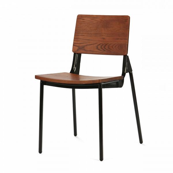 Стул JoniИнтерьерные<br>Дизайнерский стул Joni (Джони) на стальном каркасе с сиденьем и спинкой из дерева от Cosmo (Космо).<br>В погоне за новаторством нередко случается и возврат к истокам. Ведь классика — это не издержки прошлого, а благородная традиция.<br> <br> Стул Joni — это дизайнерский стул, скомбинированный из традиционных атрибутов этого типа изделия, а также пары свежих штрихов.В<br> Модель стула представляет собой классическую конструкцию ученического стула, схожую по дизайну и материалам. Нового в нем — дв...<br><br>stock: 0<br>Высота: 80<br>Ширина: 46<br>Глубина: 52<br>Тип материала каркаса: Сталь<br>Материал сидения: Массив ивы<br>Цвет сидения: Темно-коричневый<br>Тип материала сидения: Дерево<br>Цвет каркаса: Черный
