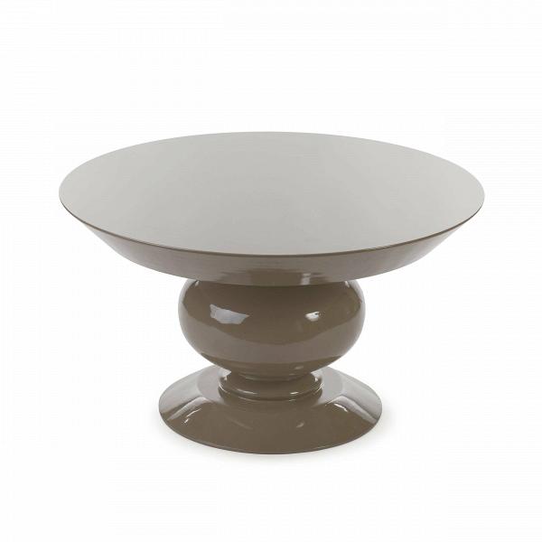 Кофейный стол Adone высота 45Кофейные столики<br>Дизайнерский широкий кофейный стол Adone (Адон) с высотой 45 см в форме шахматной фигуры от Cosmo (Космо).<br><br>Плавный силуэт шахматной фигуры воплощен в дизайне кофейного столаВAdoneВ— ненавязчивый, но очень элегантный. Он выглядит современно, но в то же время он прекрасно дополнит и классический интерьер гостиной или спальной комнаты. Любой интерьер будет выглядеть богаче, окажись в нем эта модель стола.В<br> <br> Дизайн оригинального кофейного столаВAdone доступен в двух в...<br><br>stock: 1<br>Высота: 45.4<br>Диаметр: 80<br>Тип материала каркаса: МДФ<br>Цвет каркаса: Бежевый