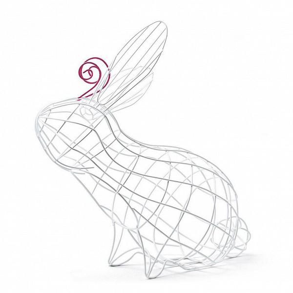 Корзина Fantastico Domestico RabbitРазное<br>Корзина Fantastico Domestico Rabbit из серии корзин Domestico Fantastico. Компания Seletti всегда подходит неординарно к созданию коллекций товаров бытового назначения. «Ну, корзина, ну, для фруктов. Давайте ее сделаем пингвином! Или свиньей? Кроликом! А лучше всеми сразу!» Видно, так и получились с корзинами Domestico Fantastico, а разработала их Валентина Карретта совместно с дизайн-студией Fabrica. <br> <br> А вот хранить в них можно не только фрукты, и это уже задача для вашей фантази...<br><br>stock: 0<br>Высота: 39<br>Ширина: 19,5<br>Материал: Металл<br>Цвет: Белый<br>Длина: 38