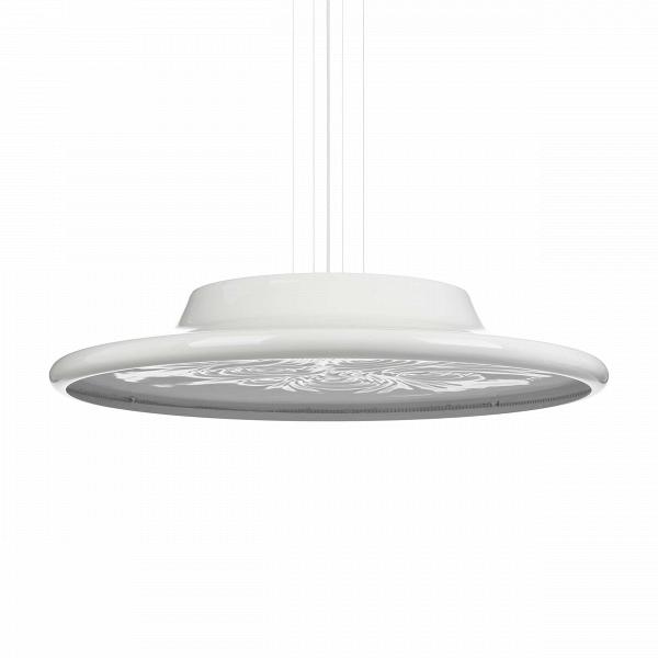Подвесной светильник NebulaПодвесные<br>Подвесной светильник Nebula создан британским дизайнером Россом Лавгроувом. Среди его клиентов Sony, Apple, Louis Vuitton, Hermes и многие другие. Работы выставлялись в Музее современного искусства (Нью-Йорк), Музее дизайна (Лондон), Центре Помпиду (Париж) и Axis Centre (Япония).В<br><br><br> По мнению многих, работы Росса Лавгроува олицетворяют новую эстетику XXI века: чувственный органический дизайн, воплощенный в красивых и эргономичных объектах. Диффузор подвесного светильника Nebula д...<br><br>stock: 1<br>Высота: 150<br>Диаметр: 80<br>Материал абажура: Алюминий<br>Мощность лампы: 38,4<br>Ламп в комплекте: Нет<br>Напряжение: 220<br>Тип лампы/цоколь: LED<br>Цвет абажура: Белый<br>Дизайнер: Ross Lovegrove
