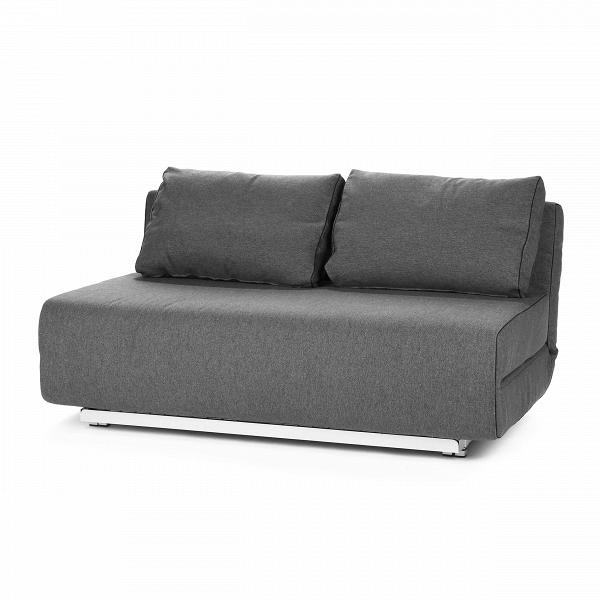 Диван CityРаскладные<br>Дизайнерский двухместный диван City (Сити) без подлокотников на стальных ножках от Softline (Софтлайн).<br><br><br><br><br> Диван City может принимать два различных положения иВидеально подходит для небольшой квартиры или комнаты, где нужны как просто диван, так и удобное спальное место. Диван City — это компактная мебель, идеально подходящая для маленьких городских пространств. Стиль, комфорт — иВвосемь положений спинки. Диван входит в состав серии City, состоящей из дивана и кресла.<br><br><br> О...<br><br>stock: 0<br>Высота: 78<br>Высота сиденья: 41<br>Глубина: 98<br>Длина: 150<br>Цвет ножек: Серый<br>Материал обивки: Хлопок, Полиэстер<br>Коллекция ткани: Vision<br>Тип материала обивки: Ткань<br>Тип материала ножек: Сталь<br>Цвет обивки: Темно-серый