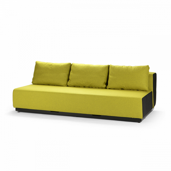 Диван Nevada 3-PРаскладные<br>Дизайнерский удобный диван Nevada (Невада) без подлокотников на низких ножках от Softline (Софтлайн).<br> Датская компания Softline — известный представитель минималистичных решений в дизайне интерьера. Этот бренд известен прежде всего своей мягкой мебелью, с изготовления которой в 1979 году началась история компании. Экспериментируя с формами и цветами, дизайнеры остаются верными главной идее, и поэтому в диванах Softline всегда заметна яркая индивидуальность: однотонные расцветки (ткани с пр...<br><br>stock: 0<br>Высота: 75<br>Высота сиденья: 35<br>Глубина: 107<br>Длина: 200<br>Материал обивки: Шерсть, Полиамид<br>Цвет обивки дополнительный: Черный<br>Коллекция ткани: Felt<br>Тип материала обивки: Ткань<br>Цвет обивки: Желтый<br>Дизайнер: Busk + Hertzog
