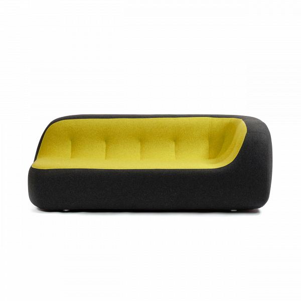Диван SandДвухместные<br>Дизайнерский яркий креативный минималистичный диван Sand (Сенд) округлой формы от Softline (Софтлайн)<br><br> Диван SandВ— это ультрасовременный дизайн, вдохновением для создания которого послужила сама природа. На его создание испанских дизайнеров Хосе Эстебана и Хавьера Морено вдохновила вода, которая вВтечение долгого времени шлифует и изменяет камни, лежащие наВее пути, иВпостоянно создает новые формы.<br><br><br> Хосе Эстебан начал свою карьеру в 1992 году сразу в нескольких ра...<br><br>stock: 0<br>Высота: 71<br>Высота сиденья: 36<br>Глубина: 100<br>Длина: 190<br>Материал обивки: Хлопок, Полиэстер<br>Цвет обивки дополнительный: Желтый<br>Коллекция ткани: Felt<br>Тип материала обивки: Ткань<br>Цвет обивки: Темно-серый