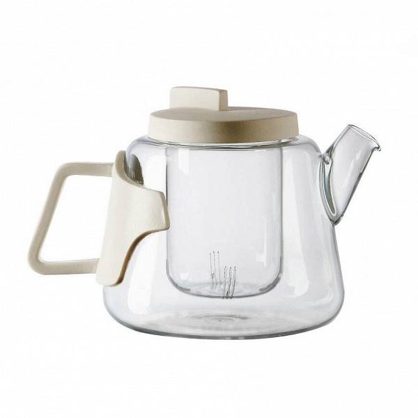 Чайник EraПосуда<br>Чайник Era представлен компанией Seletti. Прозрачное стекло позволяет насладиться насыщенным цветом кофе или чая, аВтонкий иВлегкий фарфор служит идеальным украшением изделия иВпредотвращает нагревание ручки иВкрышки.<br><br><br> Чайник Era — часть коллекции, разработанной дизайнером Ким Хан Гю, который объединяет вместе в одном изделии два различных материала: боросиликатное стекло иВфарфоровые ручки. Чайник идеально подходит для любой кухни, где каждый член сем...<br><br>stock: 2<br>Высота: 15<br>Материал: Стекло<br>Цвет: Белый<br>Диаметр: 15<br>Материал арматуры: Фарфор