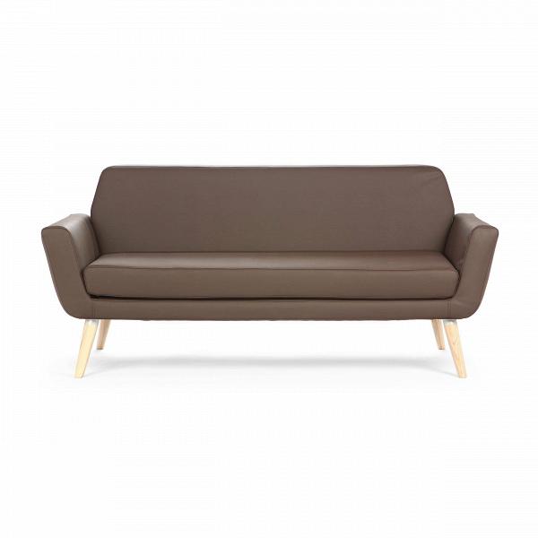 Диван ScopeДвухместные<br>Дизайнерский двухместный небольшой диван Scope (Скоп) на длинных деревянных ножках от Softline (Софтлайн).<br><br><br><br><br> Диван Scope предлагает современный, непринужденный подход кВдизайну диванов: комфорт, высокое качество иВчистые линии, которые всегда будут современными. Диван идеально подходит для городского проживания, где пространство ограничено. Двухместный диван Scope на деревянных ножках. Имеет маленький, удобный размер и чистые прямые линии. <br><br><br> Оригинальный диван выполнен...<br><br>stock: 0<br>Высота: 73<br>Высота сиденья: 39<br>Глубина: 80<br>Длина: 162<br>Цвет ножек: Светло-коричневый<br>Материал ножек: Массив ясеня<br>Материал обивки: Полиэстер<br>Коллекция ткани: Valencia<br>Тип материала обивки: Кожа искусственная<br>Тип материала ножек: Дерево<br>Цвет обивки: Тёмно-коричневый