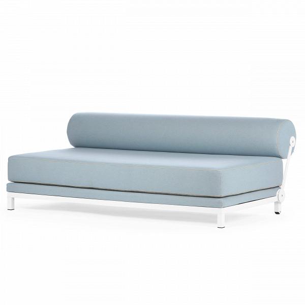 Диван SleepРаскладные<br>Дизайнерский удобный диван Sleep (Слип) без подлокотников на стальных ножках от Softline (Софтлайн).<br><br><br><br><br> Диван Sleep обладает выдающимся дизайном. ОнВможет использоваться вВкачестве дивана или двуспальной кровати. Спинка приспосабливаемая иВпозволяет вам размещать ее тем способом, которым понравится вам. Этот функциональный дизайнерский диван — победитель датского конкурса дизайнеров.В<br><br><br> Оригинальный диван Sleep выполнен по дизайну датского дуэта Флемминга Буска ...<br><br>stock: 0<br>Высота: 73<br>Высота сиденья: 43<br>Глубина: 90<br>Длина: 204<br>Цвет ножек: Белый<br>Материал обивки: Хлопок, Полиэстер<br>Коллекция ткани: Vision<br>Тип материала обивки: Ткань<br>Тип материала ножек: Сталь<br>Цвет обивки: Голубой<br>Дизайнер: Busk + Hertzog