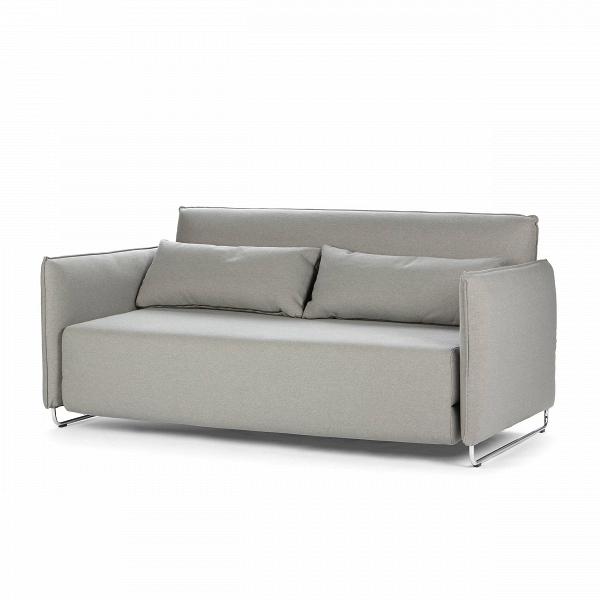 Диван CordРаскладные<br>Дизайнерский темно-коричневый диван Dale (Дэйл) с обивкой из вискозы, полиэстера, льна и на деревянных ножках от Cosmo (Космо).<br> Дизайнеры компании Cosmo разработали диван с весьма универсальным дизайном, который сможет легко вписаться практически в любой интерьер. Диван Dale раскладной имеет приятные округлые формы и теплый, насыщенный темно-коричневый цвет. У дивана небольшие размеры, благодаря чему он станет замечательным украшением небольшого помещения и подарит вам прекрасный, наполнен...<br><br>stock: 0<br>Высота: 76<br>Высота сиденья: 38<br>Глубина: 96<br>Длина: 170<br>Цвет ножек: Хром<br>Материал обивки: Хлопок, Полиэстер<br>Коллекция ткани: Vision<br>Тип материала обивки: Ткань<br>Тип материала ножек: Сталь<br>Цвет обивки: Серый<br>Дизайнер: Busk + Hertzog