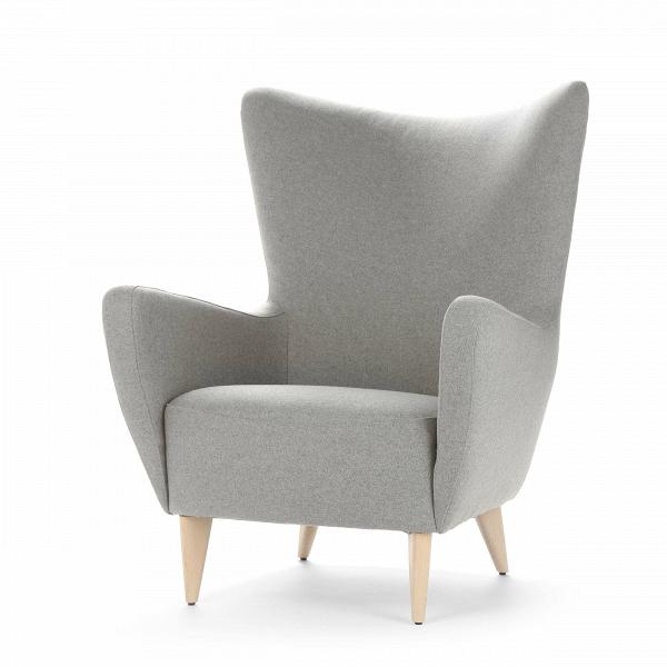 Кресло ElsaИнтерьерные<br>Дизайнерское комфортное кресло Elsa (Эльза) на черных деревянных ножках от Sits (Ситс).<br><br><br> Дизайнеры мебельной компании Sits не устают радовать нас качественной и необычайно удобной мебелью, которая способна понравиться даже самому взыскательному владельцу. Кресло Elsa<br>сияет свежестью и чистыми красивыми цветовыми оттенками. Кресло имеет плавные изящные формы и не менее изящные высокие деревянные ножки.<br><br><br> У кресла Elsa<br>невероятно приятная на ощупь тканевая обивка, что особенно ...<br><br>stock: 0<br>Высота: 100<br>Высота сиденья: 44<br>Ширина: 83<br>Глубина: 91<br>Цвет ножек: Беленый дуб<br>Материал обивки: Шерсть, Полиамид<br>Степень комфортности: Стандарт комфорт<br>Форма подлокотников: Стандарт<br>Коллекция ткани: Категория ткани III<br>Тип материала обивки: Ткань<br>Тип материала ножек: Дерево<br>Цвет обивки: Светло-серый