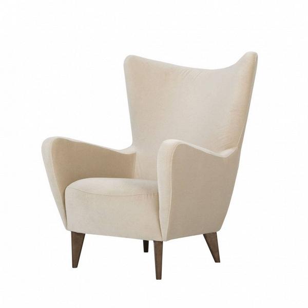 Кресло ElsaИнтерьерные<br>Дизайнерское комфортное кресло Elsa (Эльза) на черных деревянных ножках от Sits (Ситс).<br><br><br> Дизайнеры мебельной компании Sits не устают радовать нас качественной и необычайно удобной мебелью, которая способна понравиться даже самому взыскательному владельцу. Кресло Elsa<br>сияет свежестью и чистыми красивыми цветовыми оттенками. Кресло имеет плавные изящные формы и не менее изящные высокие деревянные ножки.<br><br><br> У кресла Elsa<br>невероятно приятная на ощупь тканевая обивка, что особенно ...<br><br>stock: 0<br>Высота: 100<br>Высота сиденья: 44<br>Ширина: 83<br>Глубина: 91<br>Цвет ножек: Орех<br>Материал обивки: Полиэстер<br>Степень комфортности: Стандарт комфорт<br>Форма подлокотников: Стандарт<br>Коллекция ткани: Категория ткани III<br>Тип материала обивки: Вельвет<br>Тип материала ножек: Дерево<br>Цвет обивки: Светло-бежевый