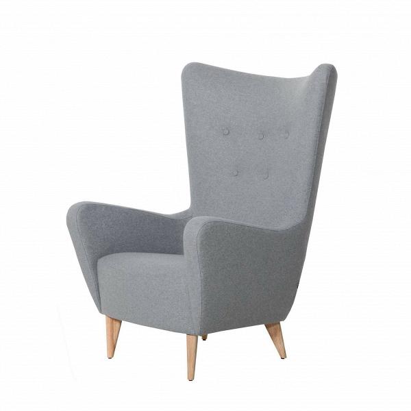 Кресло Kato с пуговицамиИнтерьерные<br>Дизайнерское светло-серое кресло Kato (Кэйто) с пуговицами и с высокой широкой спинкой на деревянных ножках от Sits (Ситс).<br><br><br> По-настоящему удобное сиденье и спинка анатомической формы, непревзойденный комфорт и изумительный внешний вид, созданный лучшими дизайнерами компании Sits, — все это гармонично и легко сочетает в себе представленное здесь кресло Kato с пуговицами. У кресла высокие стильные ножки и весьма высокая спинка, благодаря которой вы сможете расслабиться и насладиться по...<br><br>stock: 0<br>Высота: 117<br>Высота сиденья: 44<br>Ширина: 83<br>Глубина: 94<br>Цвет ножек: Беленый дуб<br>Материал обивки: Шерсть, Полиамид<br>Степень комфортности: Стандарт комфорт<br>Форма подлокотников: Стандарт<br>Коллекция ткани: Категория ткани III<br>Тип материала обивки: Ткань<br>Тип материала ножек: Дерево<br>Цвет обивки: Светло-серый