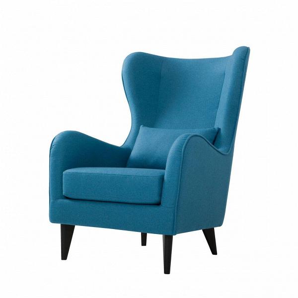 Кресло GretaИнтерьерные<br>Дизайнерское классическое удобное однотонное кресло Greta (Грета) с обивкой из хлопка, льна от Sits (Ситс).<br><br><br> Если вы ищете комфортное Ви красивое кресло, которое сможет подойти как для личного отдыха, так и для уютного рабочего кабинета, то кресло Greta заслуживает вашего особого внимания. Его удобная, анатомической формы спинка и не менее удобные подлокотники способствуют действительно качественному отдыху и не дадут утомиться вашей спине. Расположенные с двух сторон «уши» позво...<br><br>stock: 0<br>Высота: 108<br>Высота сиденья: 45<br>Ширина: 77<br>Глубина: 93<br>Цвет ножек: Черный<br>Материал обивки: Шерсть, Полиамид<br>Степень комфортности: Стандарт комфорт<br>Коллекция ткани: Категория ткани III<br>Тип материала обивки: Ткань<br>Тип материала ножек: Дерево<br>Цвет обивки: Бирюзовый