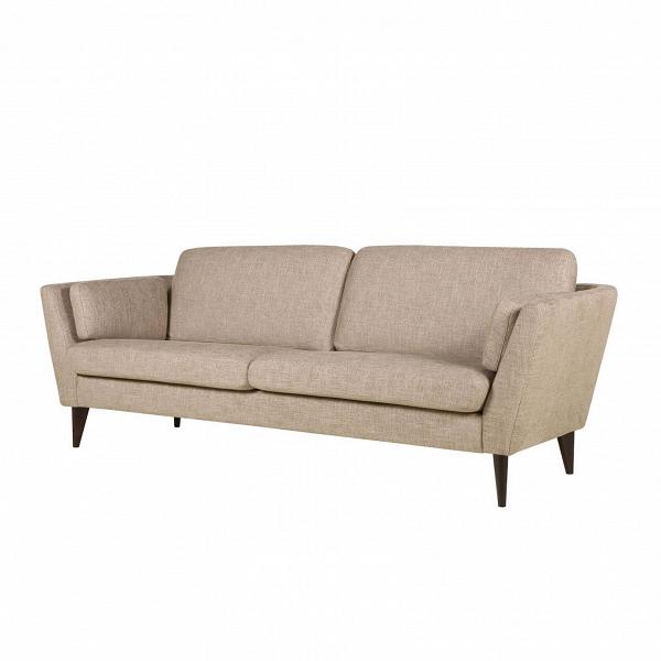Диван Mynta ширина 220Трехместные<br>Подбирая подходящую мягкую мебель в свою гостиную комнату или домашний кабинет, следует помнить о том, что такая мебель станет залогом уюта и хорошего, спокойного настроения, ведь именно мягкая мебель отвечает за наш отдых и хорошее самочувствие в перерыве между работой. Диван Mynta ширина 220 — это замечательное творение дизайнеров компании Sits, в котором присутствуют легкие шведские черты, а традиционные классические формы тесно переплетаются с современными дизайнерскими решениями.<br><br>...<br><br>stock: 0<br>Высота: 82<br>Высота сиденья: 46<br>Глубина: 87<br>Длина: 220<br>Цвет ножек: Темно-коричневый<br>Материал обивки: Хлопок, Вискоза, Лен<br>Степень комфортности: Стандарт комфорт<br>Форма подлокотников: Стандарт<br>Коллекция ткани: Категория ткани IV<br>Тип материала обивки: Ткань<br>Тип материала ножек: Дерево<br>Цвет обивки: Бежевый