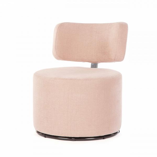 Кресло MokkaИнтерьерные<br>Дизайнерское яркое кресло-пуфик Mokka (Мокка) со спинкой на низких ножках в стиле минимализма от Sits (Ситс).<br><br><br> Любите минимализм и легкие черты в оформлении помещения и в то же время цените уникальный стиль и интересный дизайн мебели? Дизайнеры компании Sits разработали необычное кресло, которое порадует вас не только своим внешним видом, но и необычайным удобством. Кресло цилиндрической формы с удобной, анатомической формы спинкой.<br><br><br> Кресло Mokka<br>имеет чехол, изготовленный из п...<br><br>stock: 0<br>Высота: 76<br>Высота сиденья: 42<br>Ширина: 61<br>Глубина: 68<br>Цвет ножек: Черный<br>Материал обивки: Хлопок, Лен<br>Степень комфортности: Стандарт комфорт<br>Коллекция ткани: Категория ткани II<br>Тип материала обивки: Ткань<br>Тип материала ножек: Металл<br>Цвет обивки: Пудровый розовый