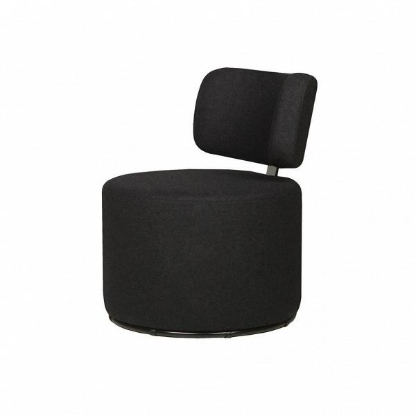 Кресло MokkaИнтерьерные<br>Дизайнерское яркое кресло-пуфик Mokka (Мокка) со спинкой на низких ножках в стиле минимализма от Sits (Ситс).<br><br><br> Любите минимализм и легкие черты в оформлении помещения и в то же время цените уникальный стиль и интересный дизайн мебели? Дизайнеры компании Sits разработали необычное кресло, которое порадует вас не только своим внешним видом, но и необычайным удобством. Кресло цилиндрической формы с удобной, анатомической формы спинкой.<br><br><br> Кресло Mokka<br>имеет чехол, изготовленный из п...<br><br>stock: 0<br>Высота: 76<br>Высота сиденья: 42<br>Ширина: 61<br>Глубина: 68<br>Цвет ножек: Черный<br>Материал обивки: Шерсть, Полиамид<br>Степень комфортности: Стандарт комфорт<br>Коллекция ткани: Категория ткани III<br>Тип материала обивки: Ткань<br>Тип материала ножек: Металл<br>Цвет обивки: Темно-серый