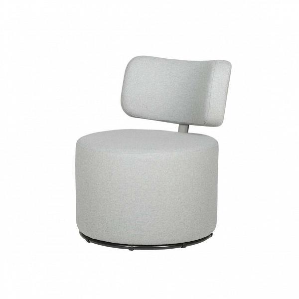 Кресло MokkaИнтерьерные<br>Дизайнерское яркое кресло-пуфик Mokka (Мокка) со спинкой на низких ножках в стиле минимализма от Sits (Ситс).<br><br><br> Любите минимализм и легкие черты в оформлении помещения и в то же время цените уникальный стиль и интересный дизайн мебели? Дизайнеры компании Sits разработали необычное кресло, которое порадует вас не только своим внешним видом, но и необычайным удобством. Кресло цилиндрической формы с удобной, анатомической формы спинкой.<br><br><br> Кресло Mokka<br>имеет чехол, изготовленный из п...<br><br>stock: 0<br>Высота: 76<br>Высота сиденья: 42<br>Ширина: 61<br>Глубина: 68<br>Цвет ножек: Черный<br>Материал обивки: Шерсть, Полиамид<br>Степень комфортности: Стандарт комфорт<br>Коллекция ткани: Категория ткани III<br>Тип материала обивки: Ткань<br>Тип материала ножек: Металл<br>Цвет обивки: Светло-серый