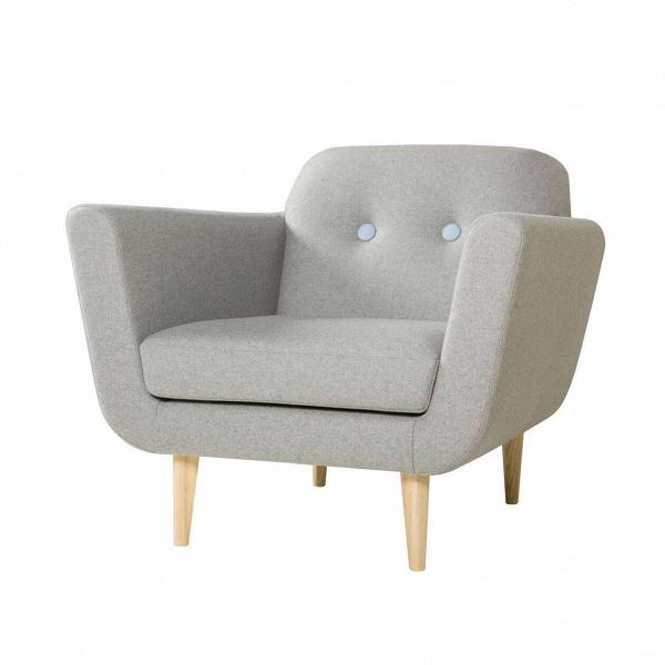 Кресло OttoИнтерьерные<br>Дизайнерское глубокое комфортное светлое кресло Otto (Отто) с тканевой обивкой от Sits (Ситс).<br><br><br> Необычайно удобное и столь же красивое кресло Otto разработано ведущими дизайнерами мебельной компании Sits. Кресло имеет очень удобную форму: приятное мягкое сиденье, слегка откинутая назад спинка, декорированная двумя элегантными пуговицами, и высокие подлокотники, которые создают у сидящего ощущение психологической защищенности и уюта.<br><br><br> Кресло Otto<br>имеет несъемный чехол, что, одна...<br><br>stock: 0<br>Высота: 77<br>Высота сиденья: 43<br>Ширина: 87<br>Глубина: 88<br>Цвет ножек: Беленый дуб<br>Материал обивки: Шерсть, Полиамид<br>Степень комфортности: Стандарт комфорт<br>Материал пуговиц: Шерсть, Полиамид<br>Цвет пуговиц: Голубой<br>Форма подлокотников: Стандарт<br>Коллекция ткани: Категория ткани III<br>Тип материала обивки: Ткань<br>Тип материала ножек: Дерево<br>Цвет обивки: Светло-серый
